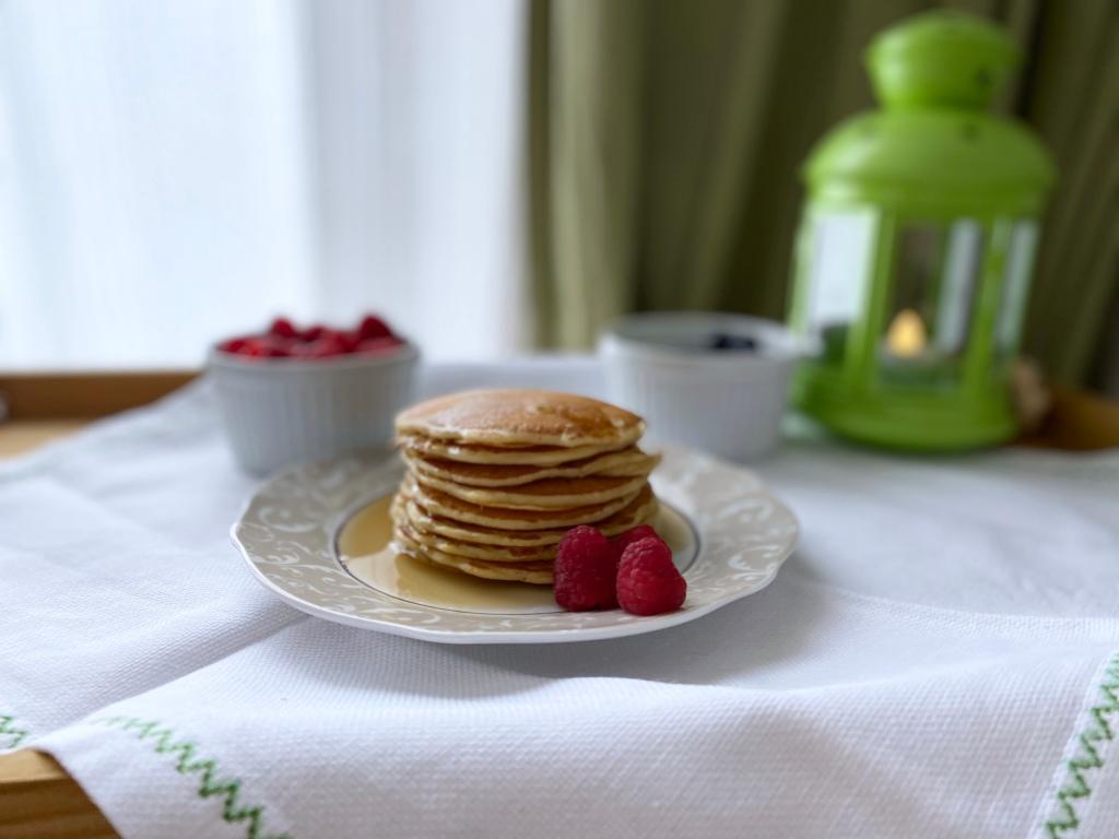 Homemade-pancakes